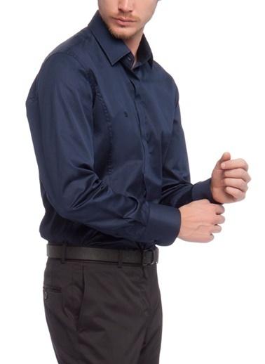 Avva Erkek   Gömlek A91B2209 Lacivert